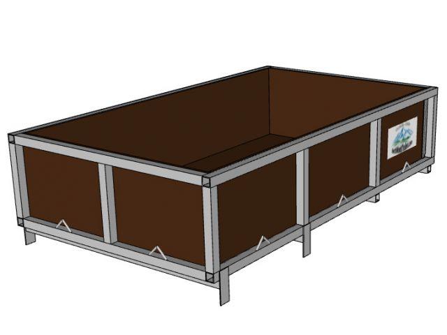 Open Box 42.5x72x16