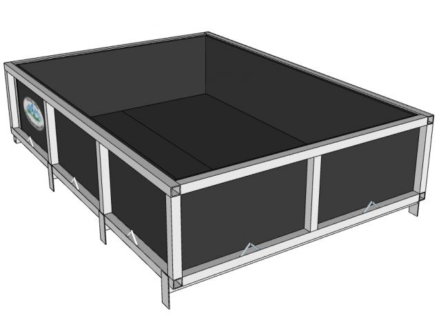 Open Box 55x94x16