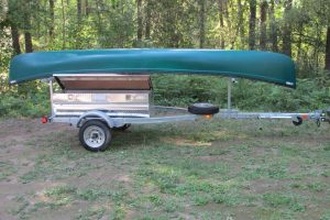 2 Place Trailer with Aluminum Storage Box